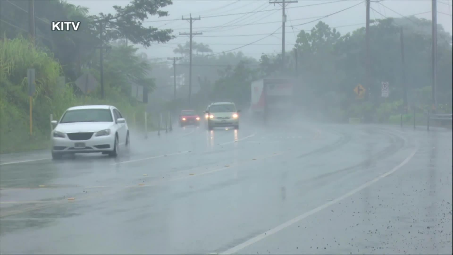 Hurricane Lane dumps torrential rains on Hawaii