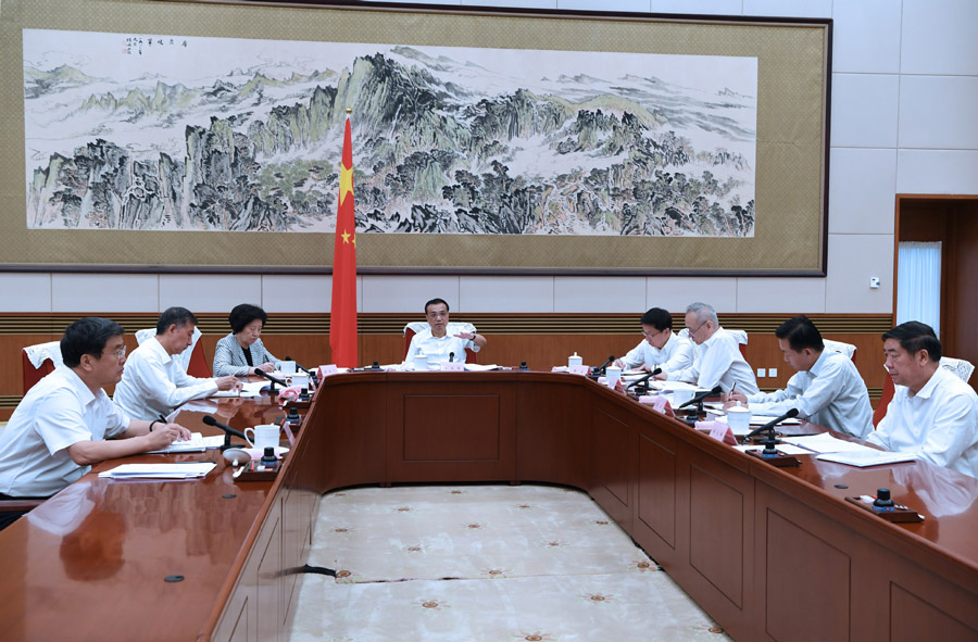Premier urges more efforts to develop western China