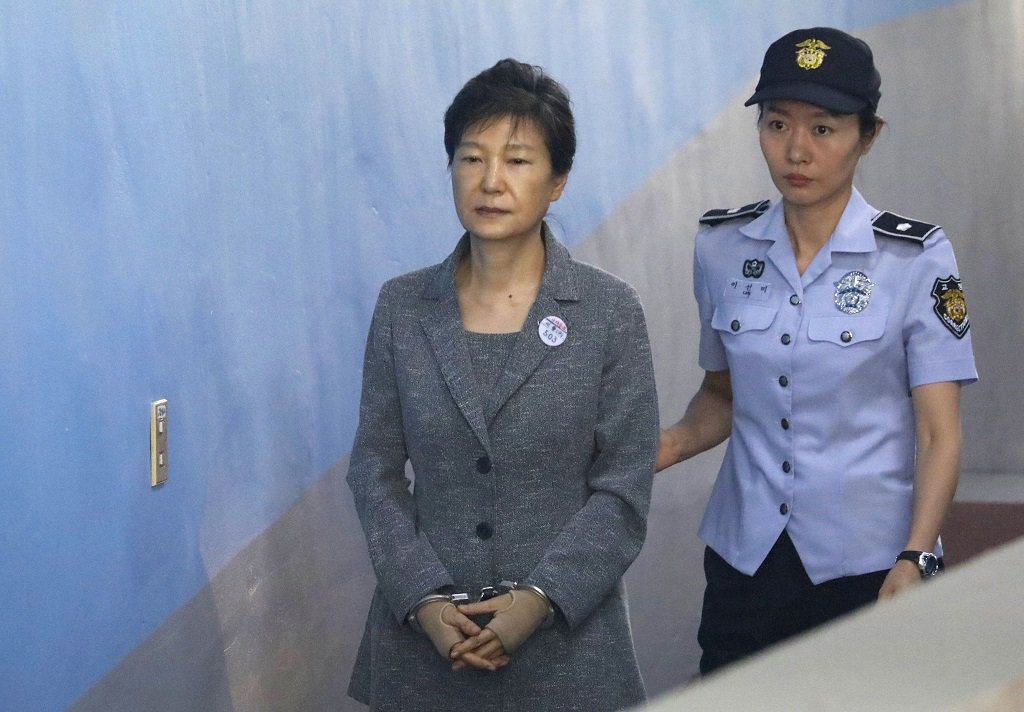 S.Korean appeals court raises sentence of ousted president Park to 25 years in prison