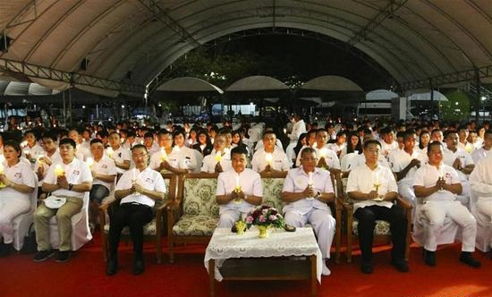 Mourning ceremony held for Chinese tourists killed in boat accident in Thailand's Phuket