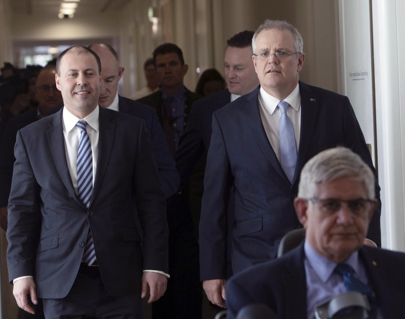 Next Australian prime minister well placed to heal party