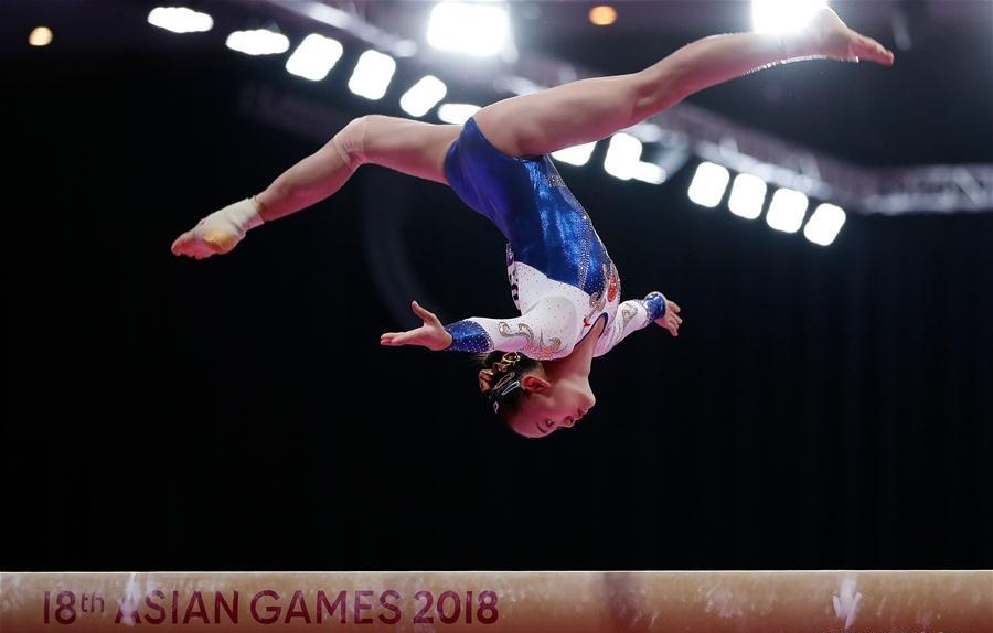 Chen Yile claims title of Artistic Gymnastics Women's Balance Beam