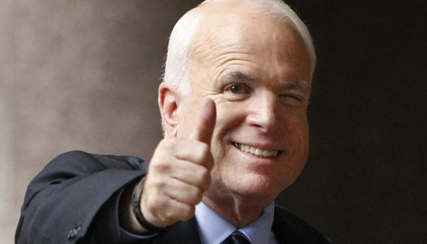 McCain stopping medical treatment for his brain cancer