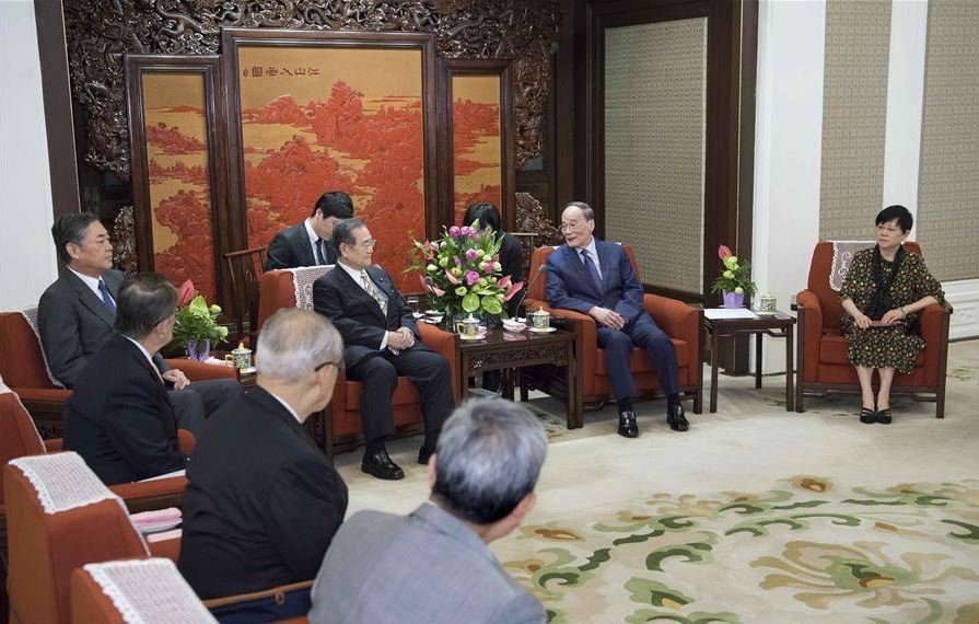 Chinese vice president meets delegation of Japan-China Society