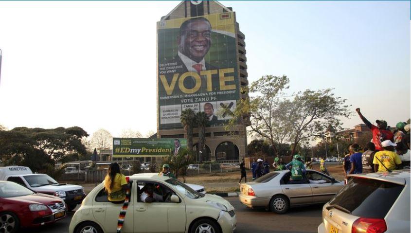 Zimbabwe court unanimously upholds president's election win
