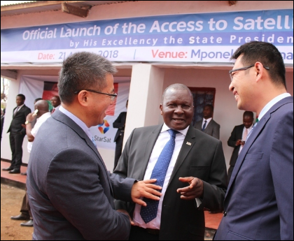 Chinese-aided project to connect 500 Malawi villages to satellite TV
