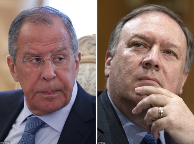 Pompeo, Lavrov discuss Syrian situation over phone