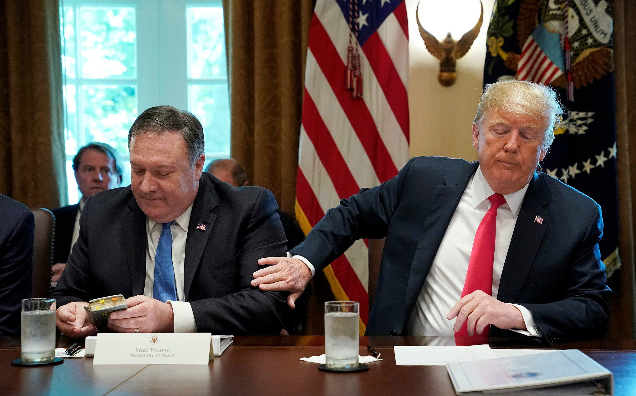 Trump calls off Pompeo's planned trip to DPRK