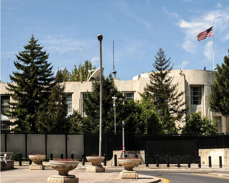 Turkey arrests 2 more suspects over US embassy shooting