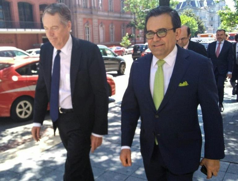 NAFTA talks with US 'very far' along: Mexico's Guajardo