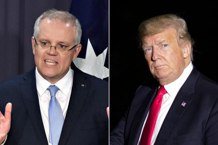 Trump, Australian PM talk over phone on ties, cooperation