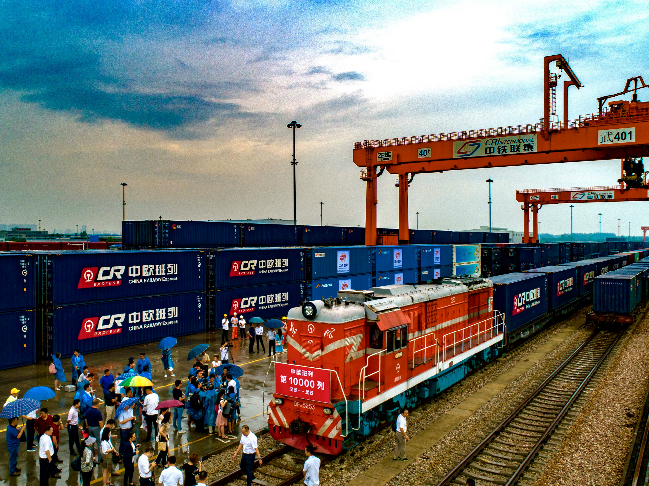 China-Europe Railway Express makes 10,000th trip