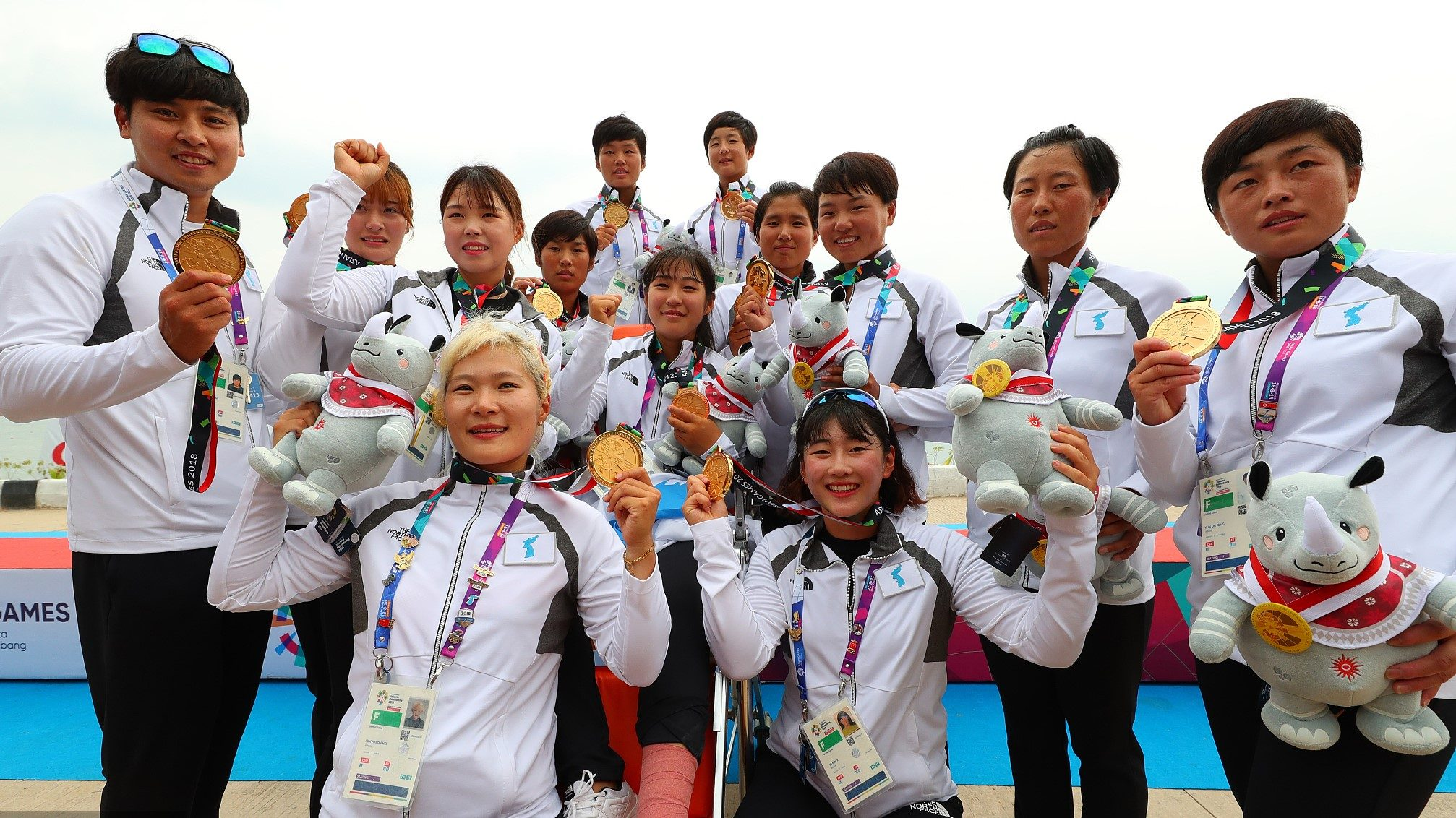 ROK-DPRK joint team wins first gold at 2018 Asian Games