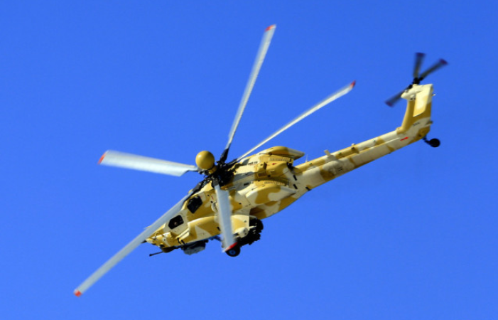 Russian helicopter maker ready to cooperate with China