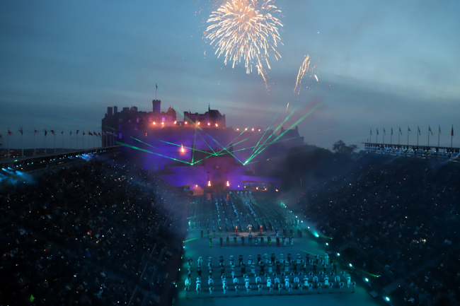 2018 Royal Edinburgh Military Tattoo wraps up