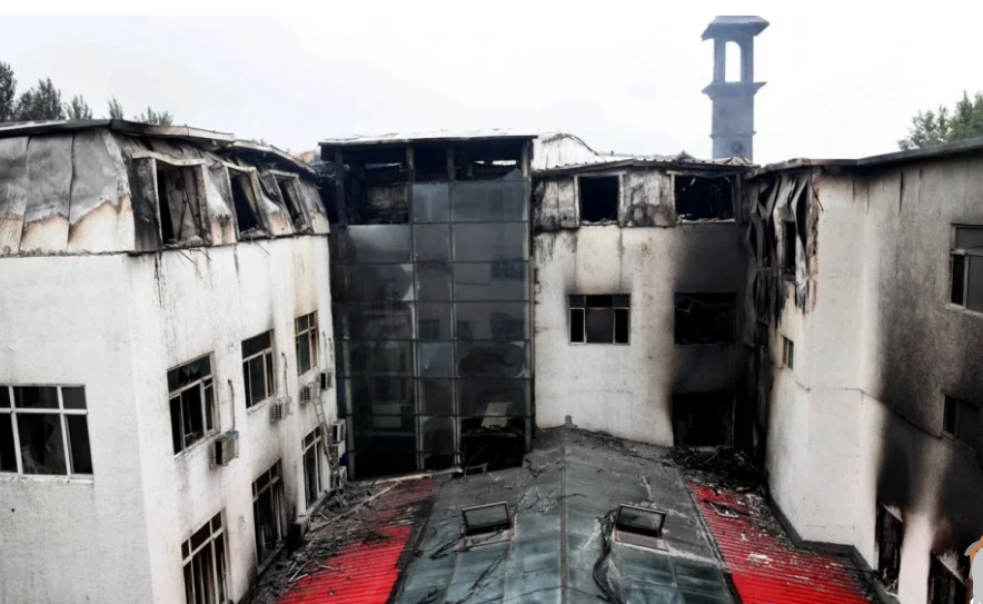 Harbin hotel fire claims 20, owner arrested