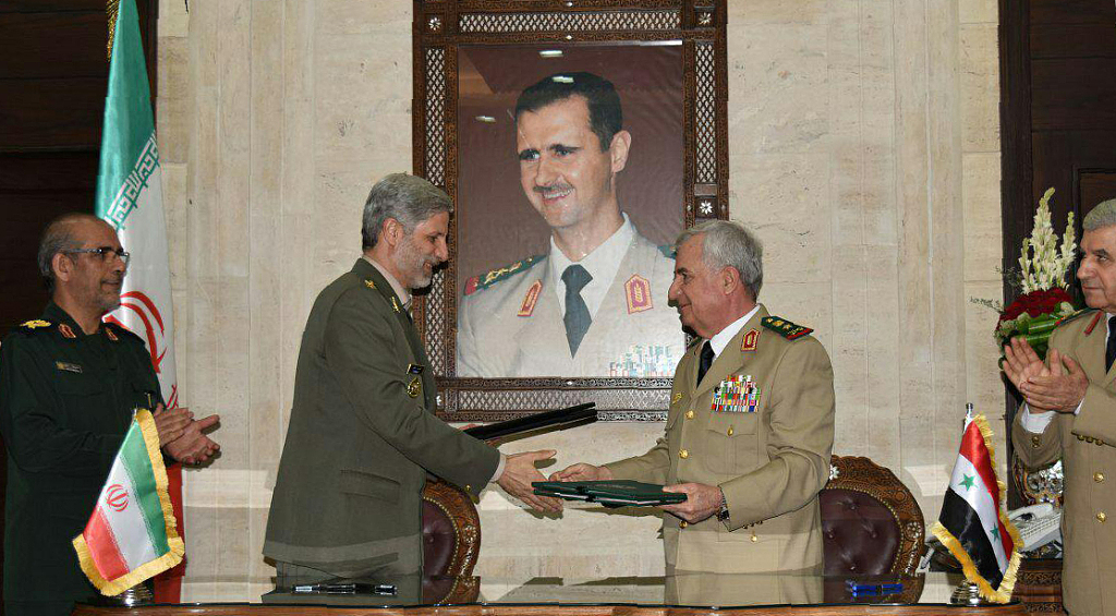 Iran, Syria sign defence, reconstruction deal