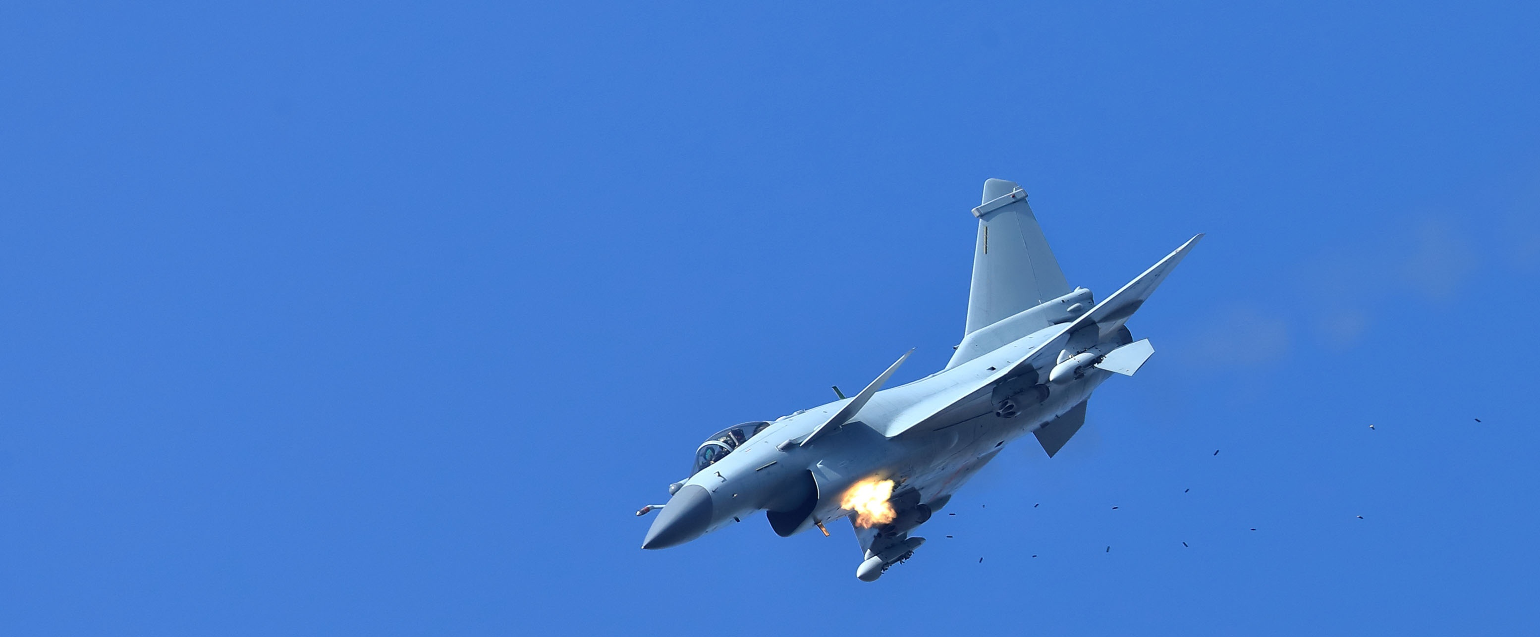 J-10 fighter jets fly during training