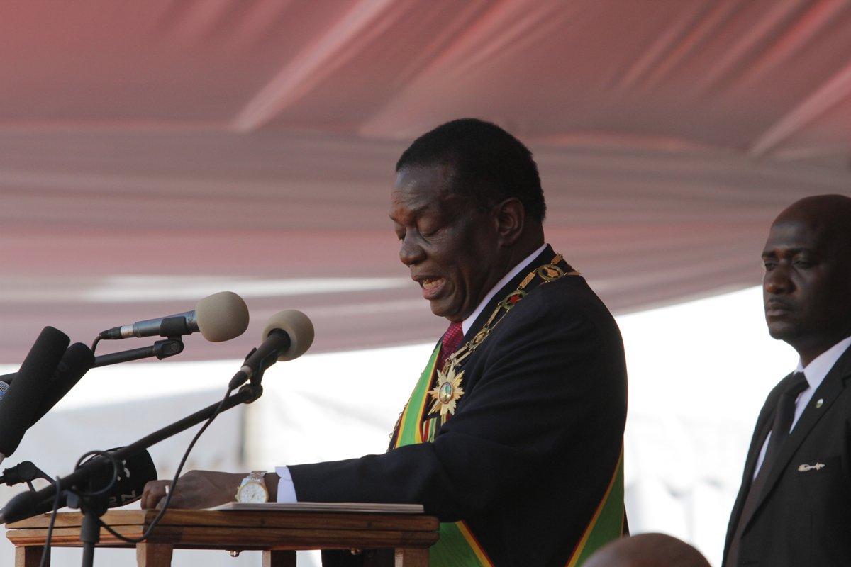 Chinese special envoy meets Zimbabwean president on ties