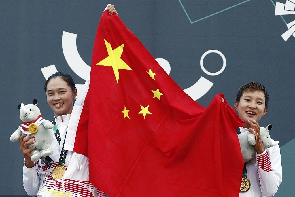 China takes home 2018 women's beach volleyball Asiad title, continuing domination