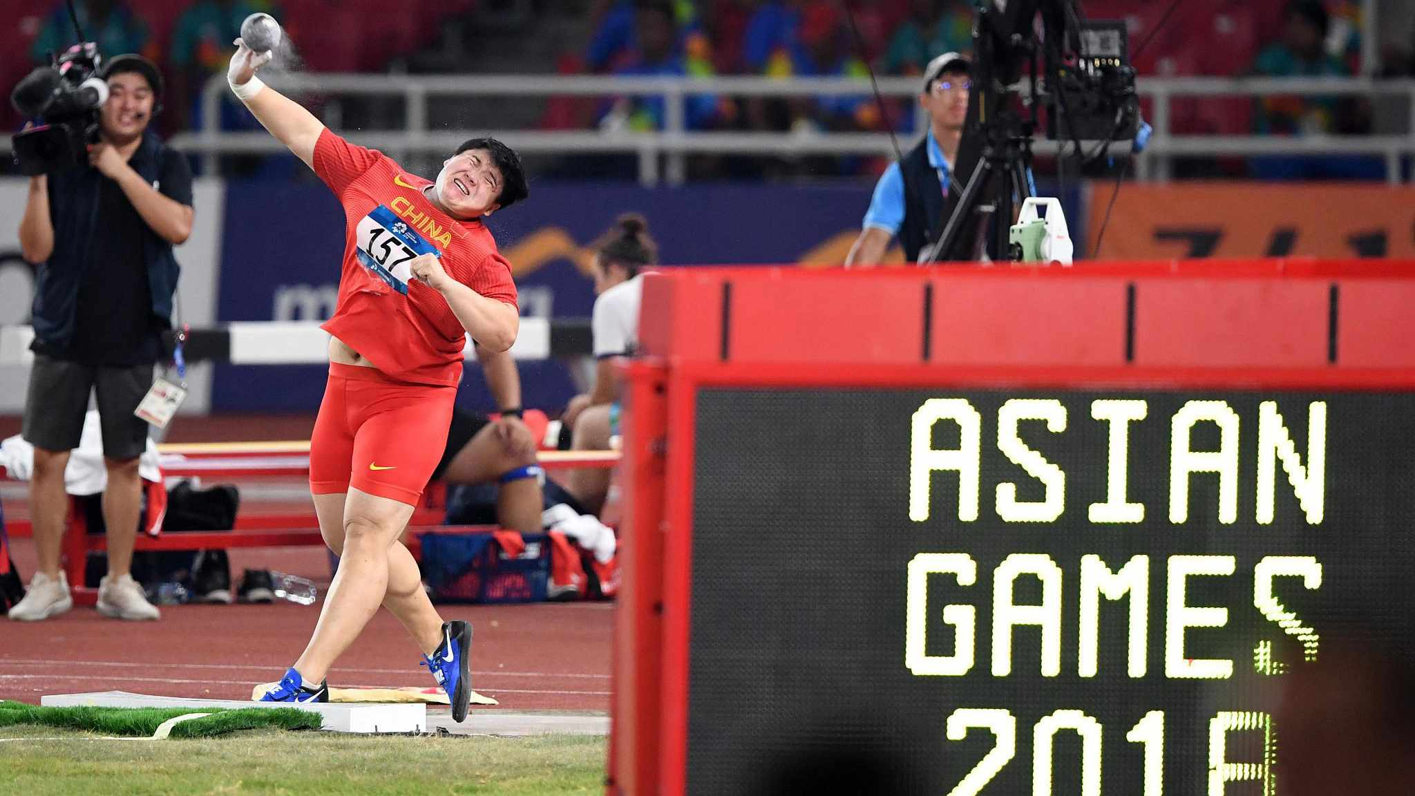 More weight, more golds: China's shot-putter champion's secret to victory at Asian Games