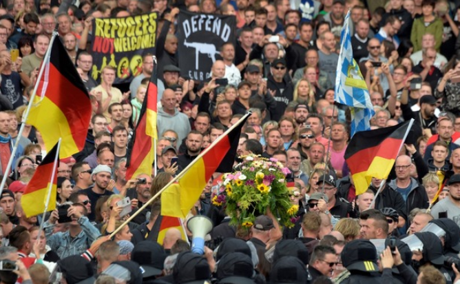 German police brace themselves for second day of violence after far-Right protests in Chemnitz