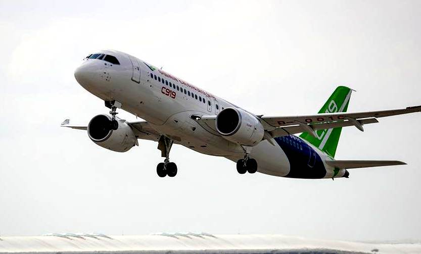 Civil aviation authorities set up on-site office in C919 developer