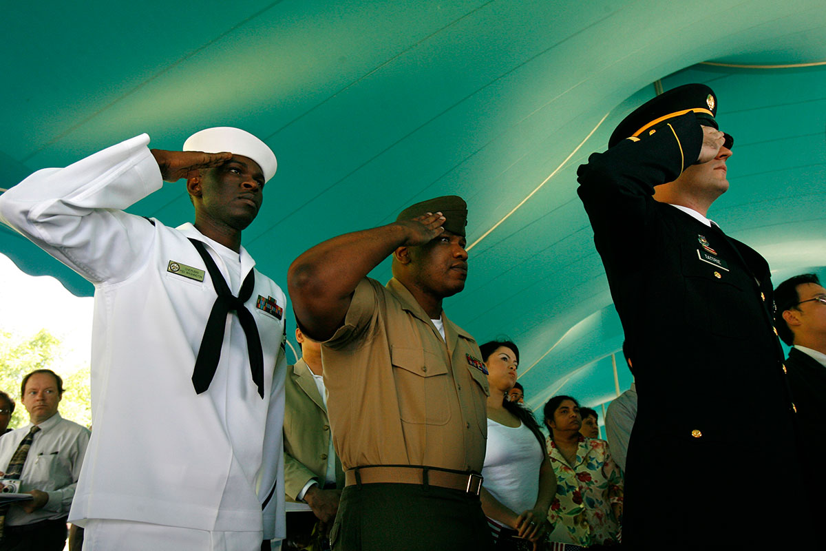 Immigrant enlistment has always been a US military hallmark