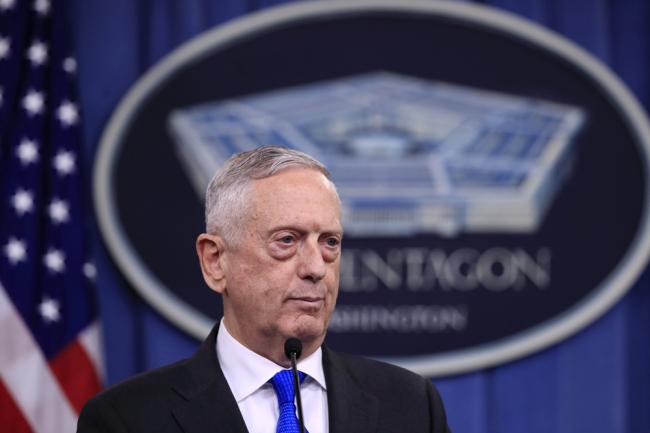 Mattis says no plans to suspend more military exercises with S. Korea