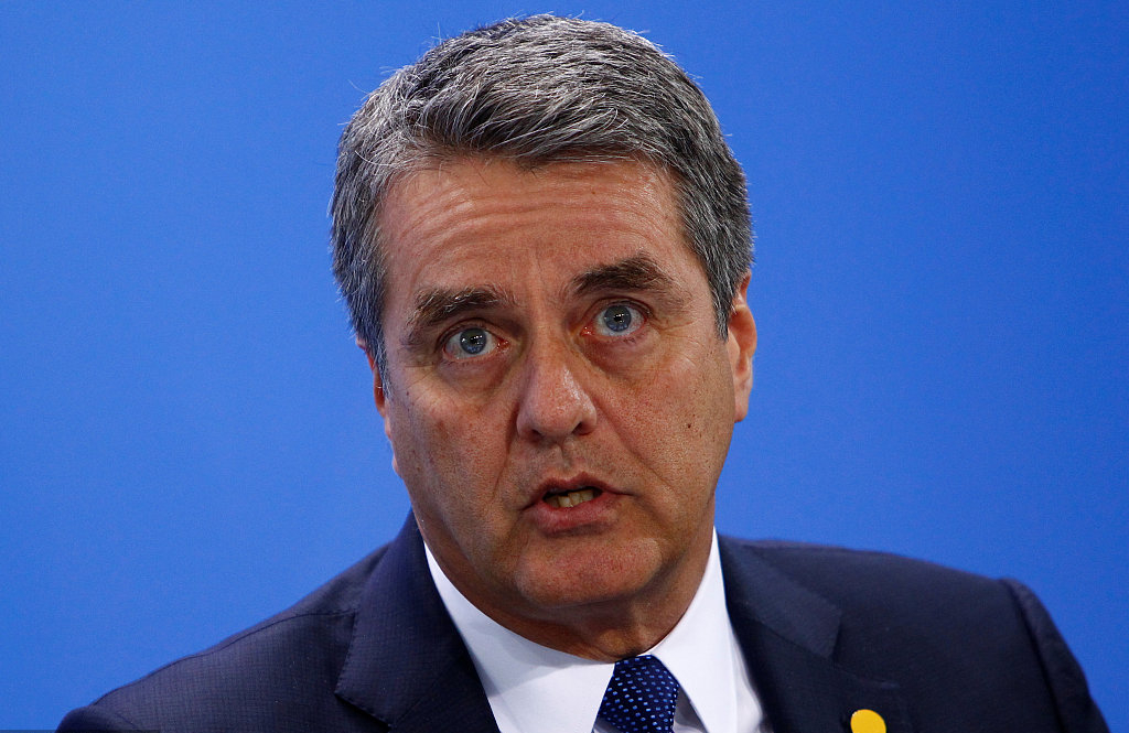 WTO chief calls for action to safeguard global trade order