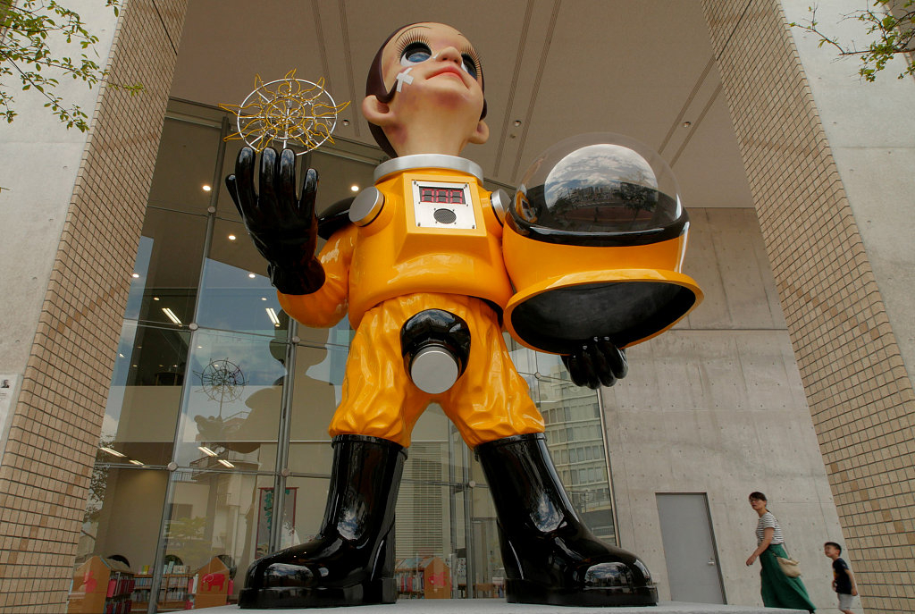 Controversial Fukushima nuclear statue to be removed
