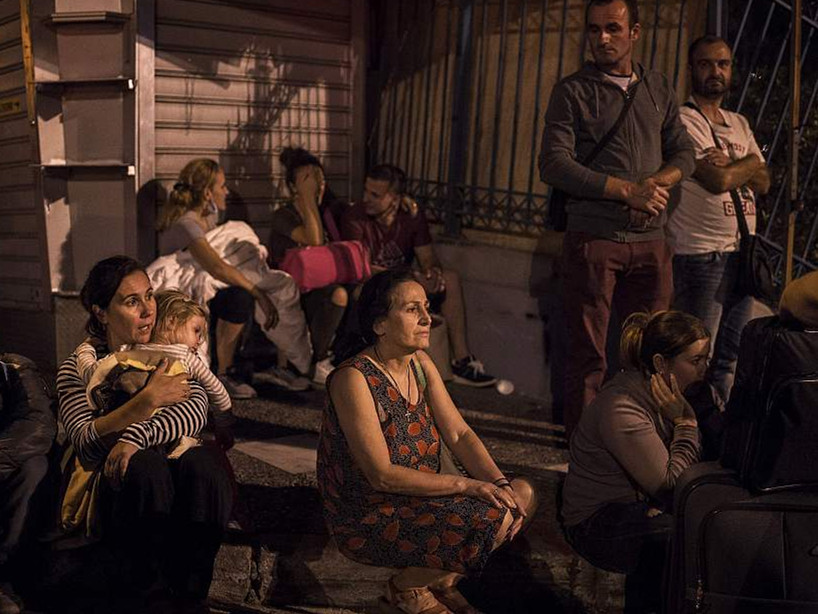 Greek passenger ferry fire put out, no injuries