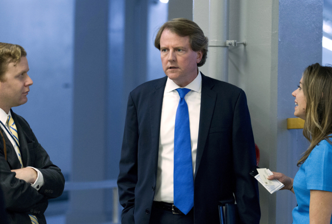 White House counsel Don McGahn to depart in the fall