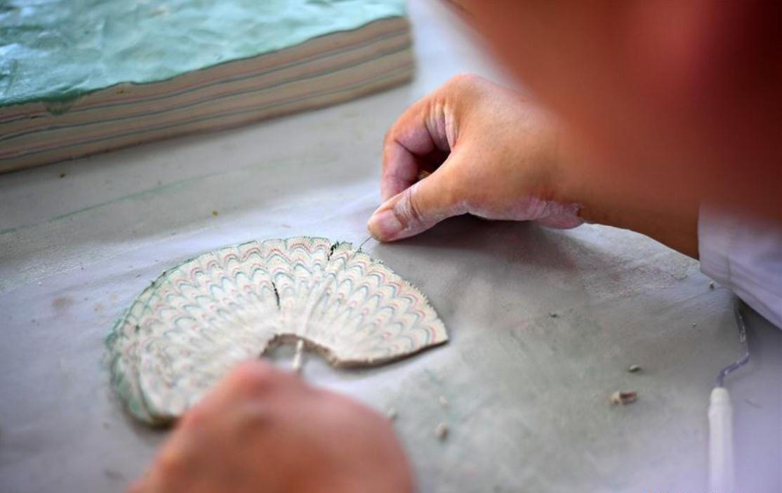 National intangible cultural heritage: Dangyangyu kiln Jiao Tai pottery firing