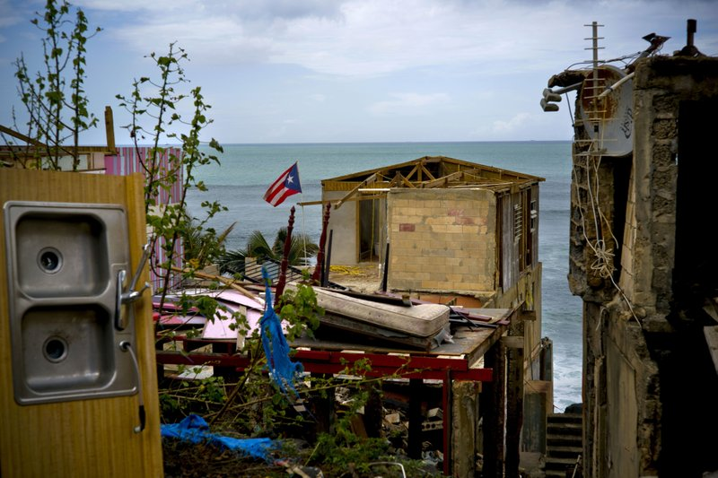 Hurricane's death toll in Puerto Rico put at nearly 3,000