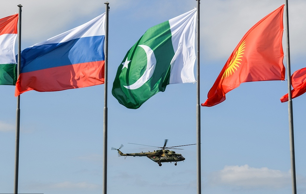 SCO countries hold military drill Peace Mission 2018 in Russia