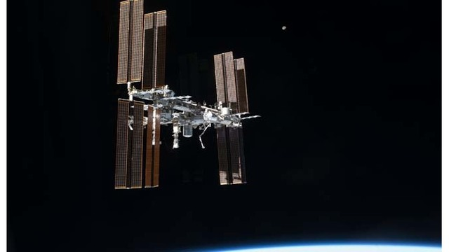 Space station reports 'leak', crew not in danger