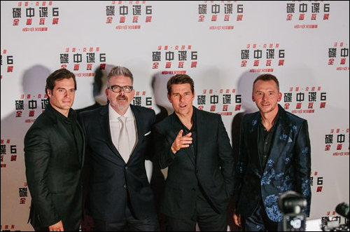 'Mission Impossible-Fallout' crew receive a warm welcome in Beijing