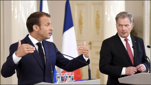 It's time for realism in EU-Russia ties: France's Macron