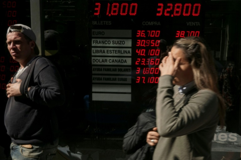 Argentina's interest rate hiked to 60% to counter currency woes