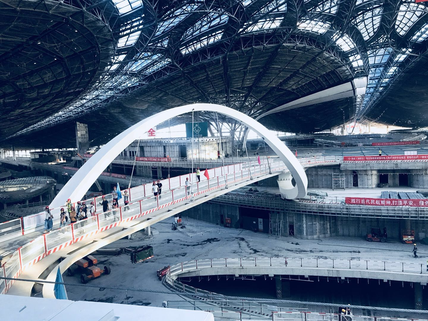 First look at the building site of the new Beijing airport