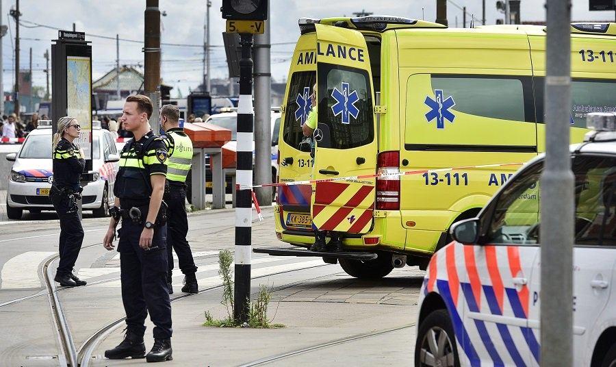 2 injured in stabbing incident at Amsterdam's Central Station