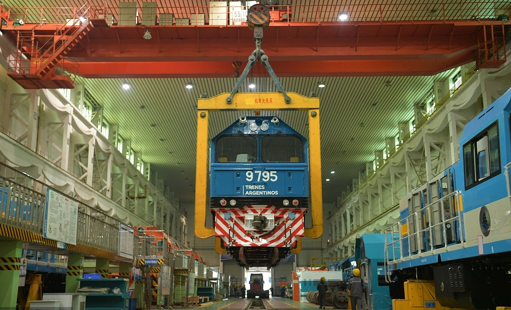How China is helping Argentina transform its railways