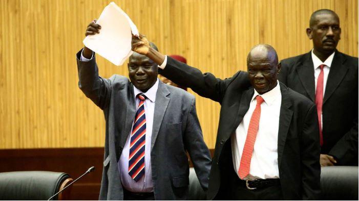 Rebel leader signs South Sudan peace deal