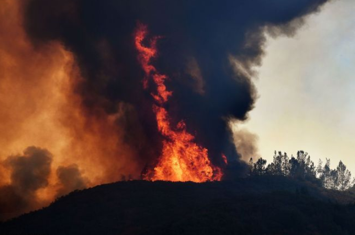 California reports progress in containing historic wild fires