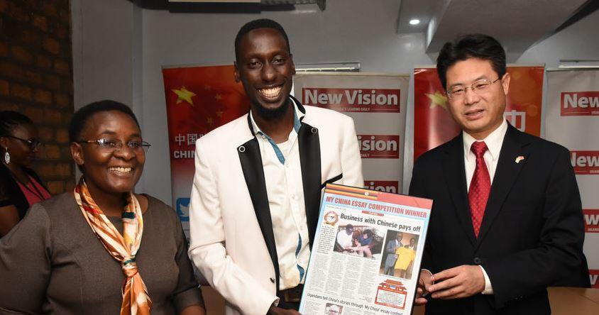 Chinese Embassy rewards 40 for promoting China-Uganda relations