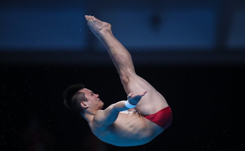 China clean sweep diving gold medals at Asiad