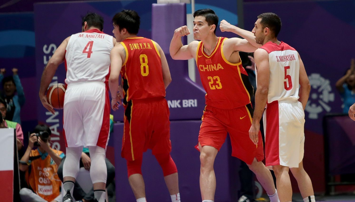 China win men's and women's basketball golds to remain runaway leaders at Asiad medal table
