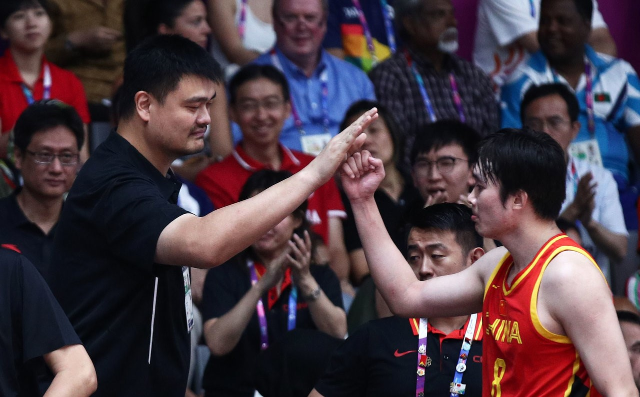 China claims basketball gold over Iran