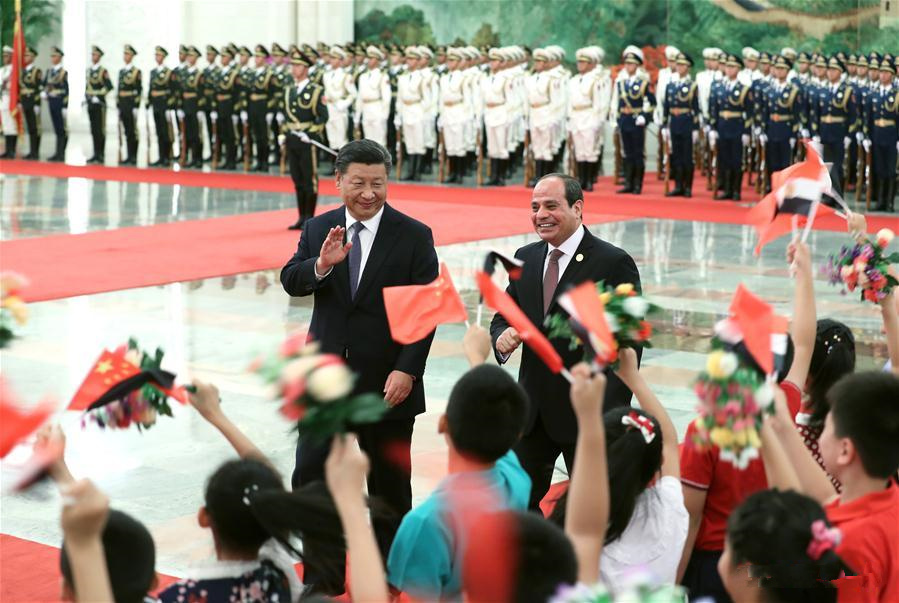 China, Egypt to advance comprehensive strategic partnership